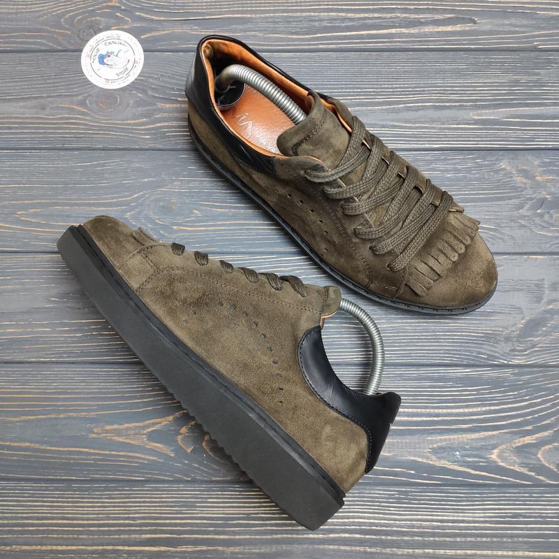 Замшевые кроссовки ботинки via vai оригинал!