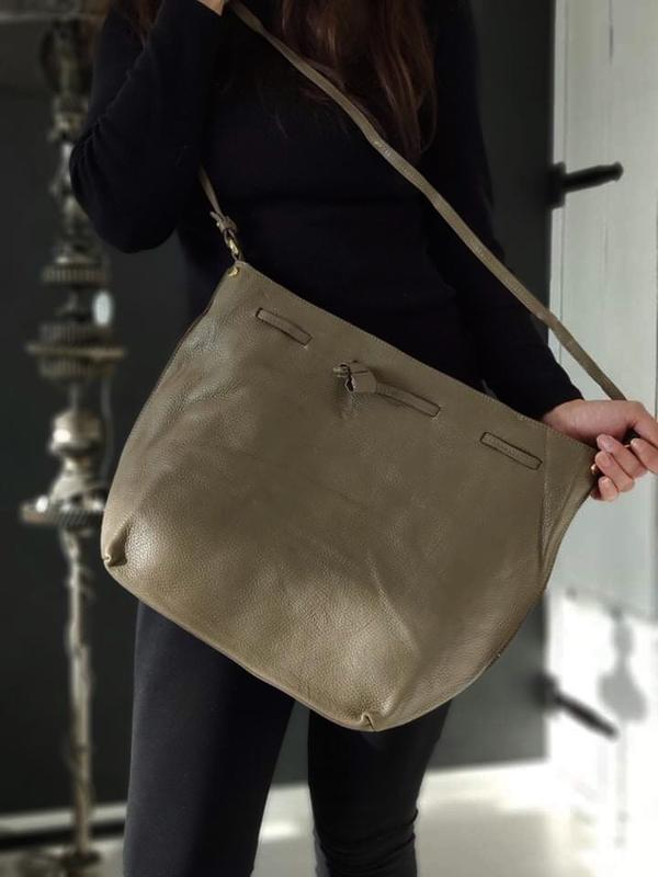 Madeleine 100% оригинальная итальянская кожаная сумка