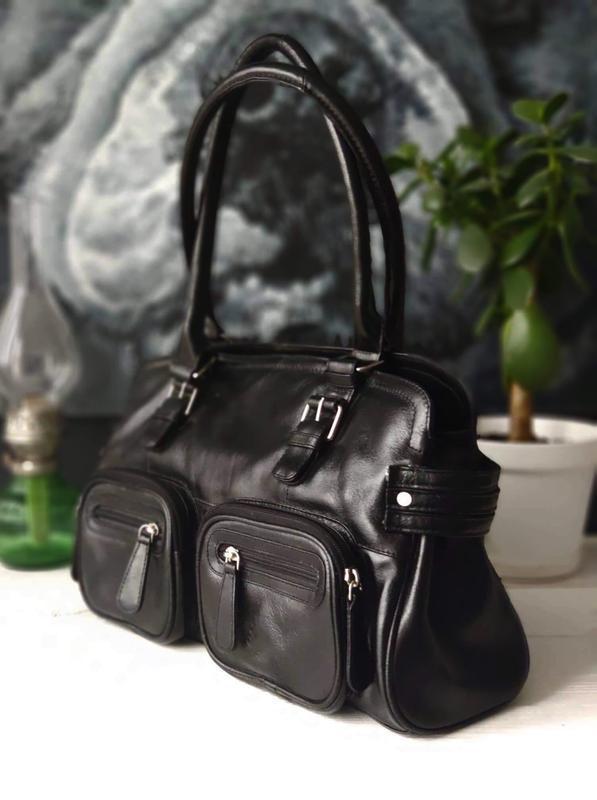 Victoria  jayne 100% оригинальная кожаная сумка.