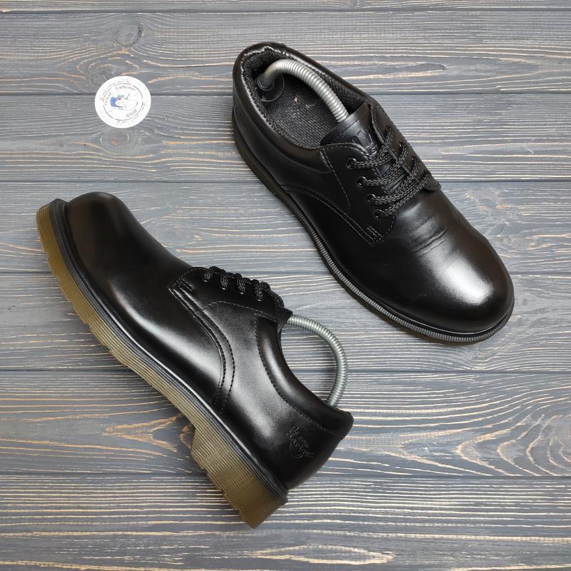 Ботинки туфли dr. martens steel оригинал!