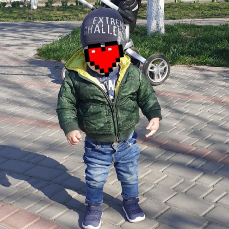 Фирменная двусторонняя  куртка курточка ветровка mayoral