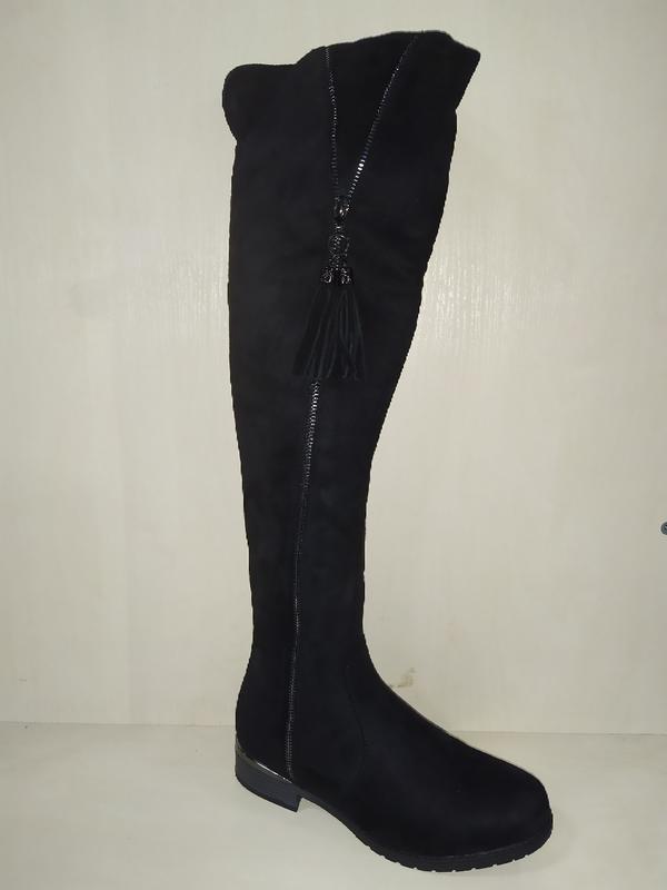 Ботфорты зимние женские сапоги сапожки зима  зимові чоботи