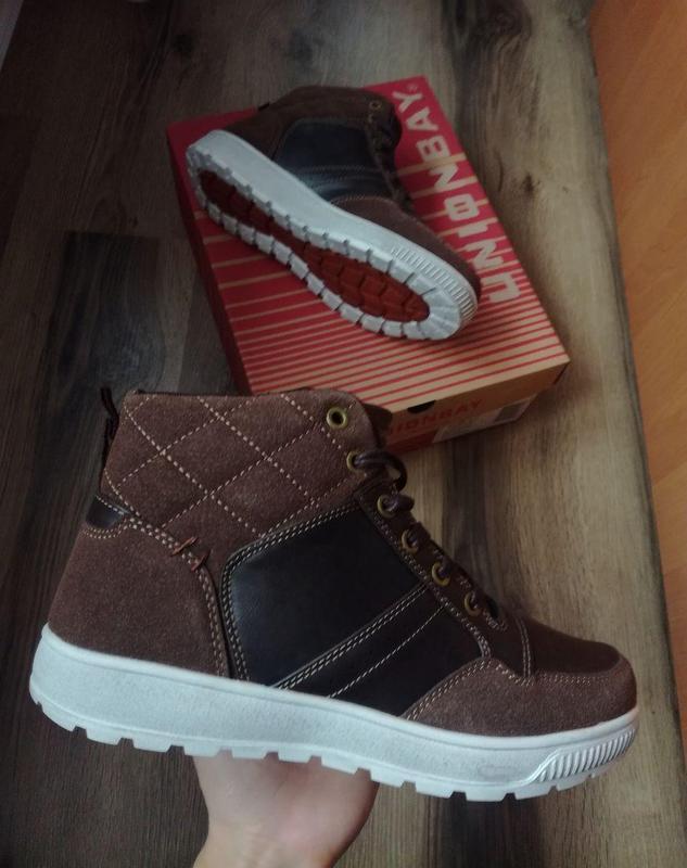 Зимние мужские ботинки unionbay, 40 р. оригинал
