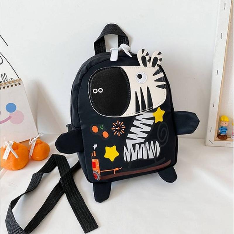 Рюкзак зебра черный