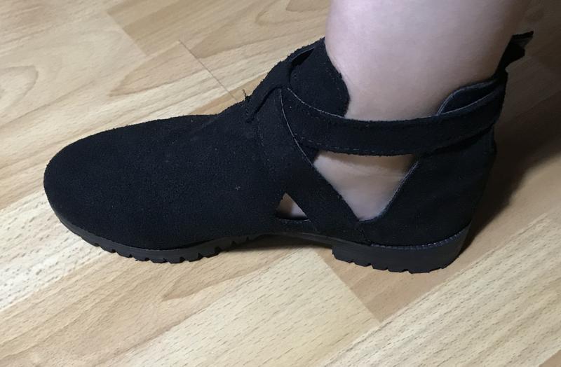 В наличии - туфли-ботинки с прорезями *schuh* 4/37 р. - натура... - Фото 8