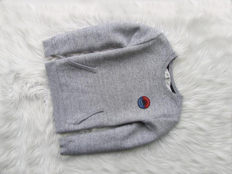 Кофта свитшот свитер джемпер лонгслив h&m