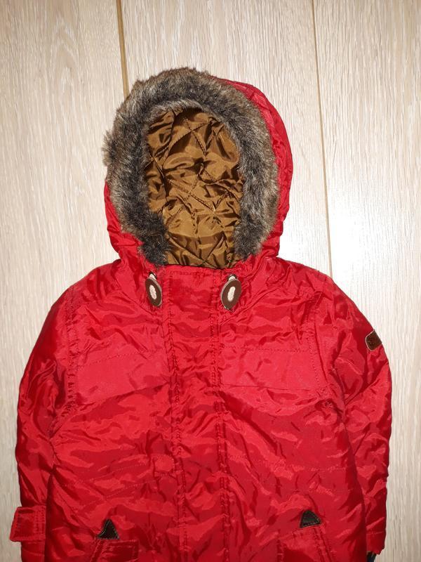 Яркая деми курточка debenhams на 12-18 мес - Фото 2