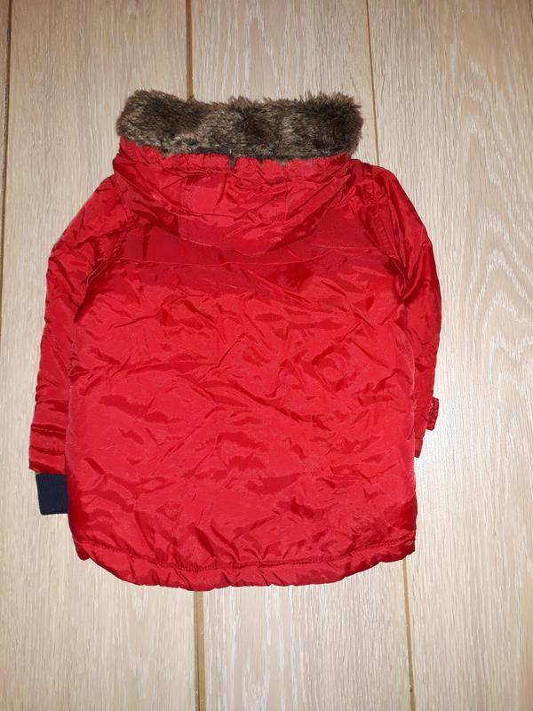 Яркая деми курточка debenhams на 12-18 мес - Фото 4