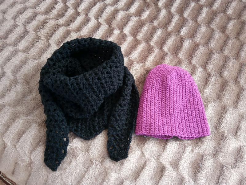 Шарф і шапка