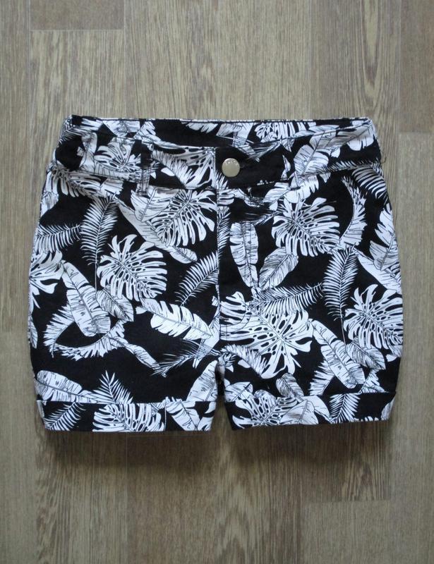 Стильные стрейчевые шорты