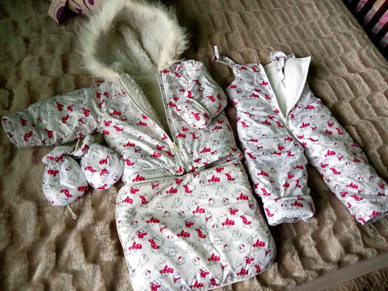 Зимний комбинезон на малыша - Фото 2