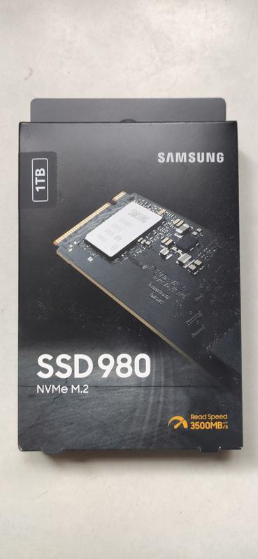 SSD накопитель Samsung 980 1 TB (MZ-V8V1T0B)