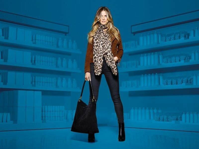 Большой шарф шаль палантин леопард от esmara германия, коллекц...
