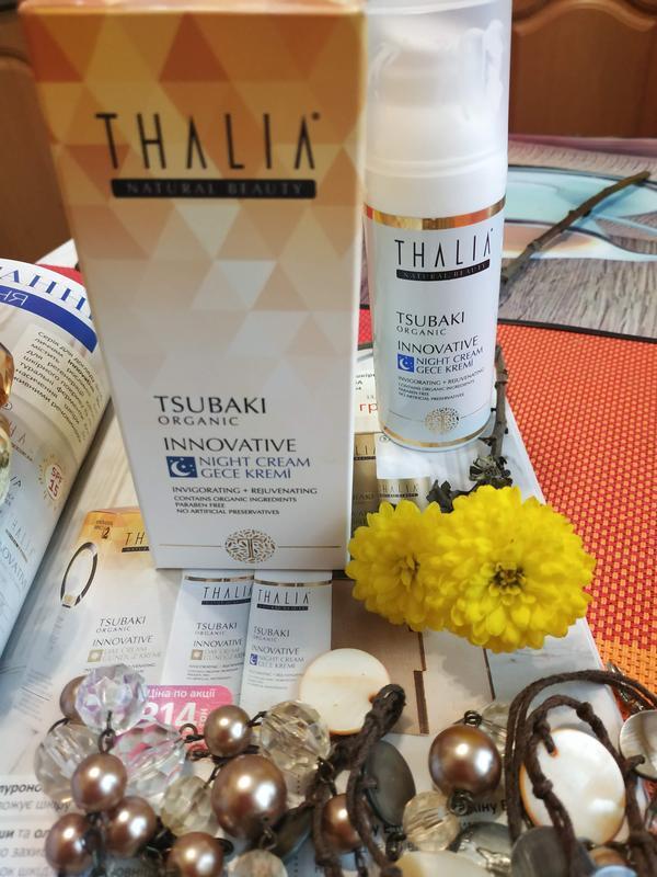 Крем ночной органический thalia tsubaki innovative (гиалурон,м...