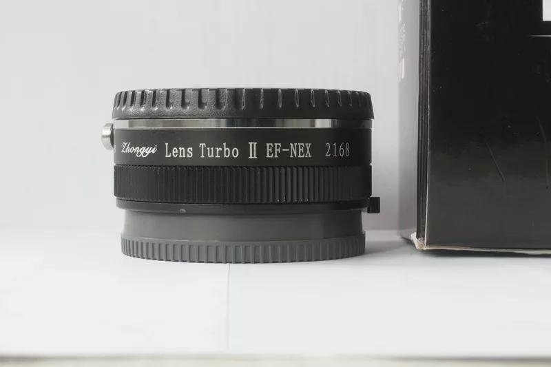 Zhongyi Lens Turbo II (EF - NEX), как Metabones Speedbooster