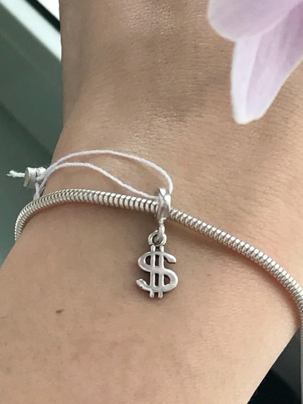 Шарм серебро 925 в стиле пандора доллар п 426
