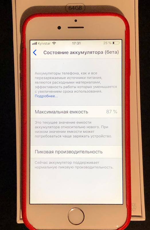 iPhone 6 64 Гб Silver (идеал)