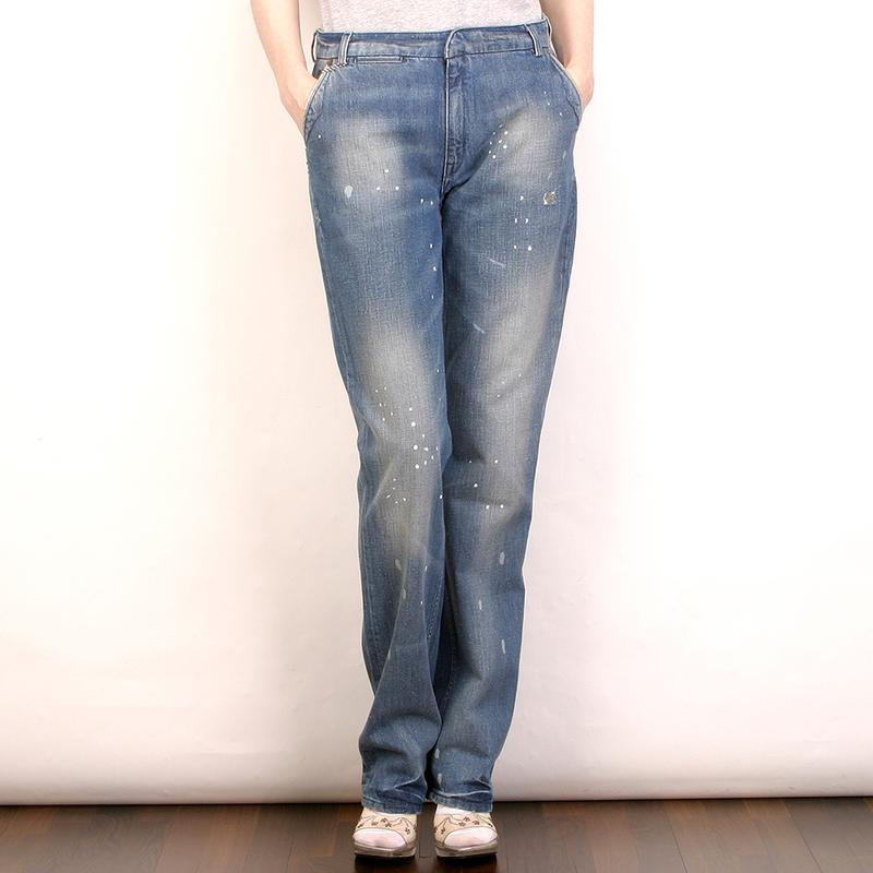 Blue Blood Нидерланды женские джинсы 249€ р28/34 прямые бойфренды