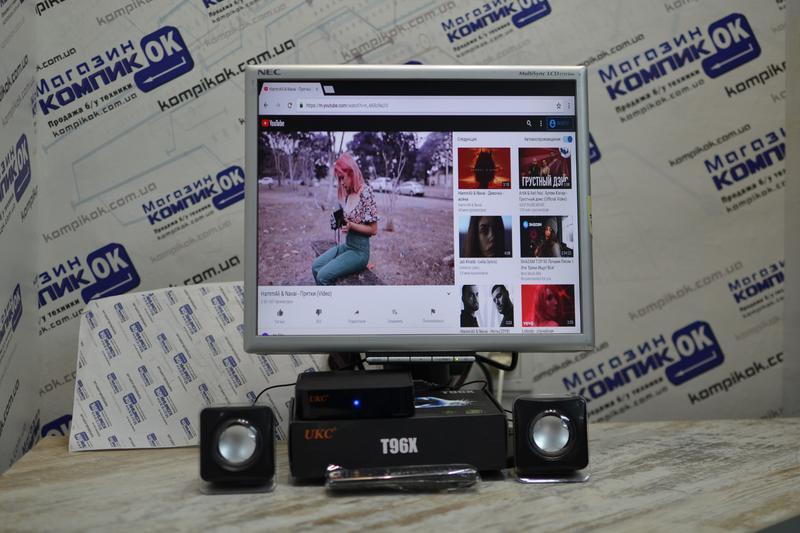 Комплект, Smart TV, Android TV Box, монитор, телевизор, 17 дюймов