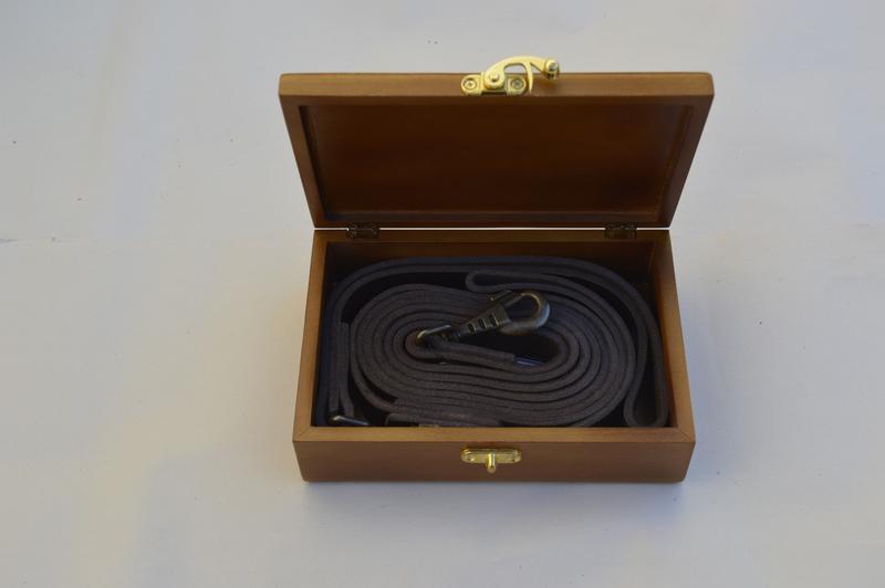 Поводок для собак 1.90 м * 23 мм + водилка в деревянной коробо... - Фото 4