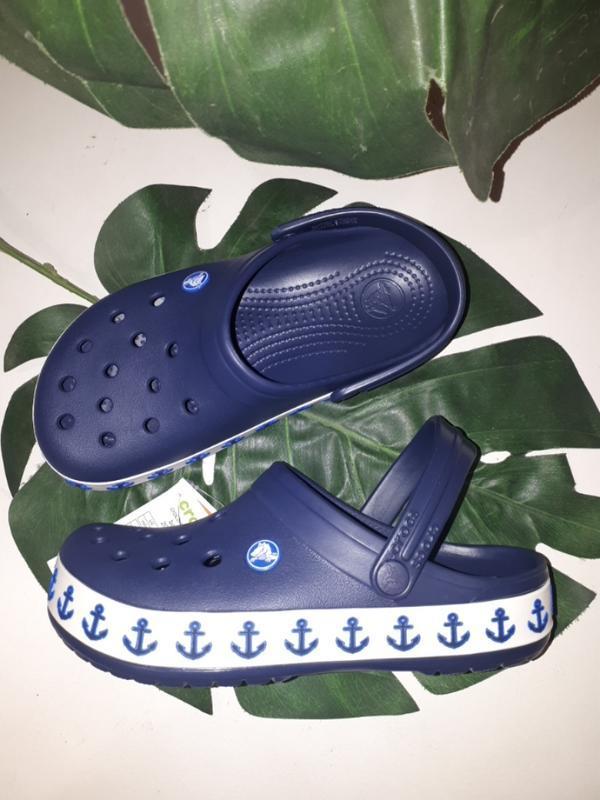 Сабо клоги crocs crocsband anchor 3