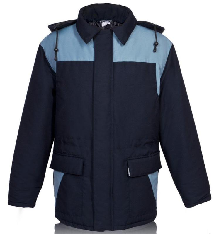 Куртка утепленная Осло, темно-синяя