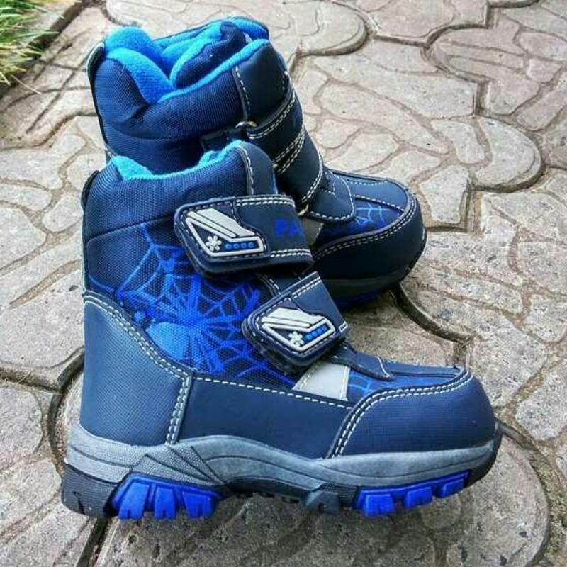 Термо ботинки зимние сапоги