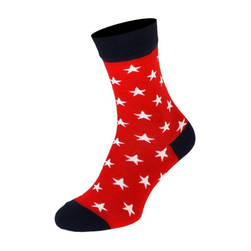 Набор ярких носочков, the pair of socks, из 5 пар star box - Фото 2