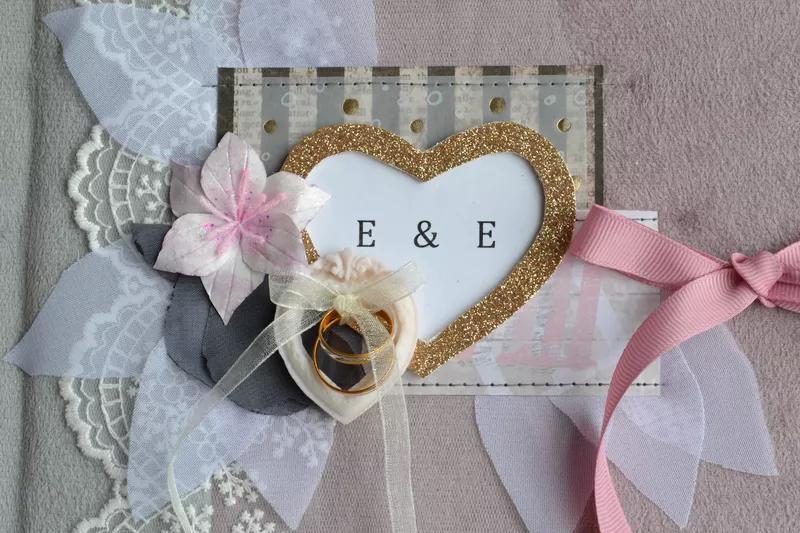 Свадебные фотоальбомы . Ручная работа на заказ - Фото 4