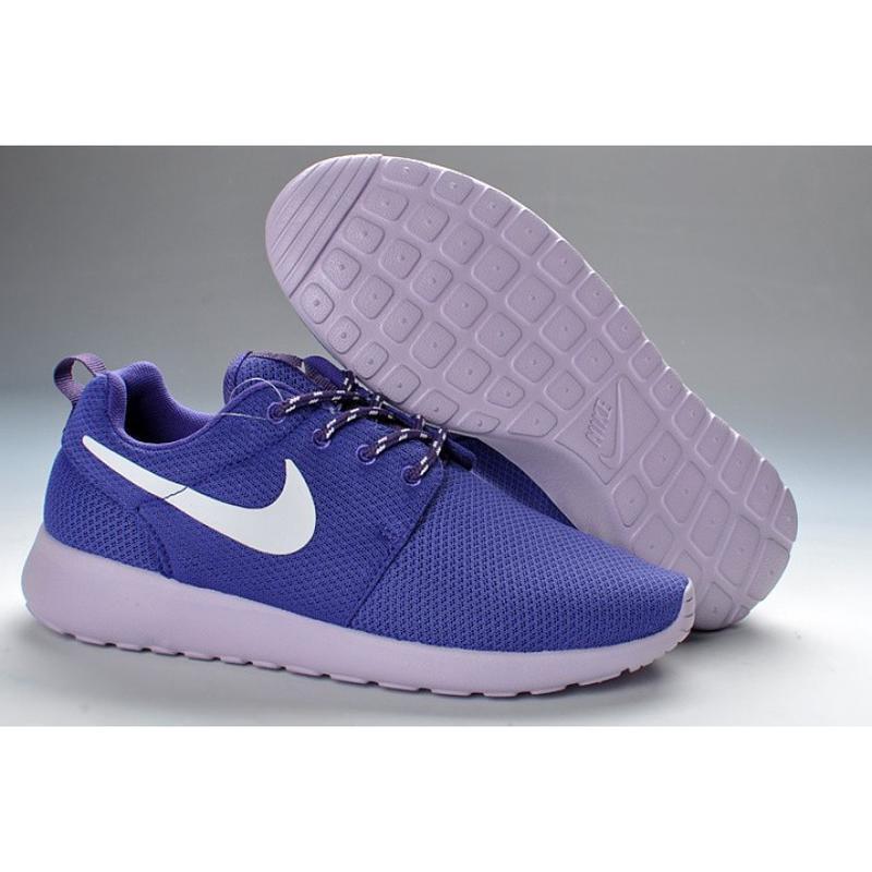 Кроссовки для спорта фиолетовые с розовымв стиле nike