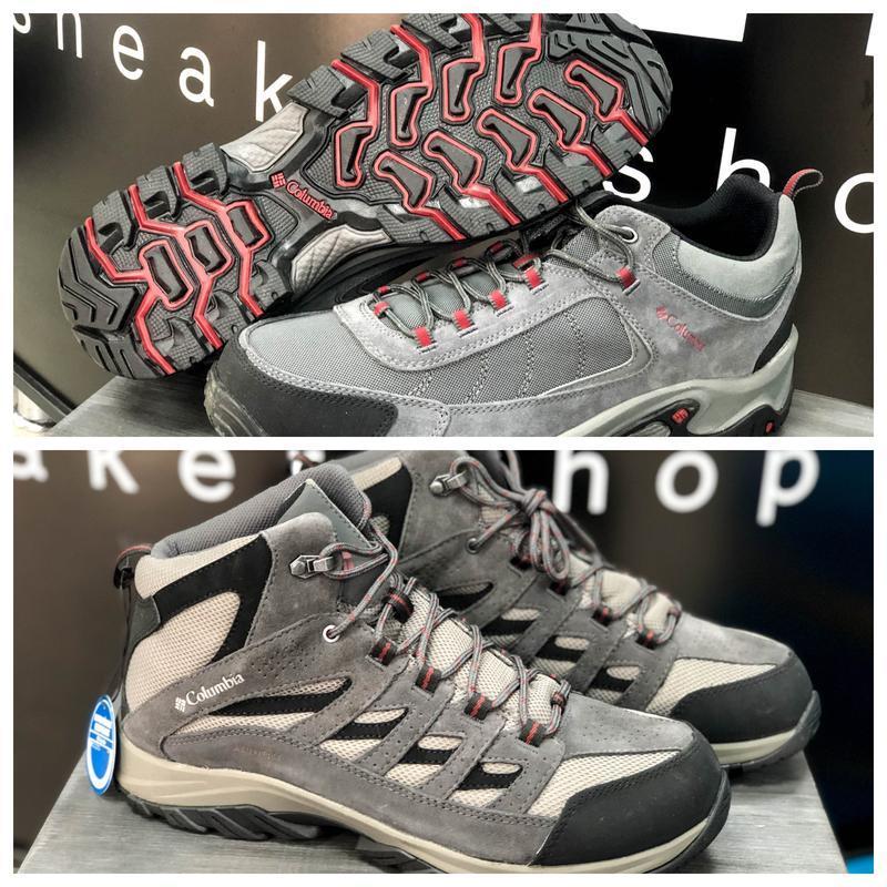 Ботинки columbia crestwood/granite ridge оригинал waterproof 2...