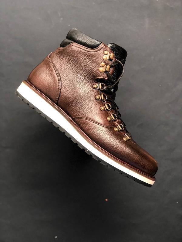Зимние ботинки massimo dutti (оригинал) кожа! 44 45
