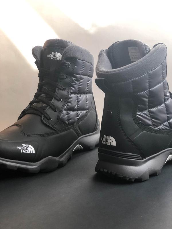 -10 % зимние ботинки the north face thermoball boot zipper - Фото 6