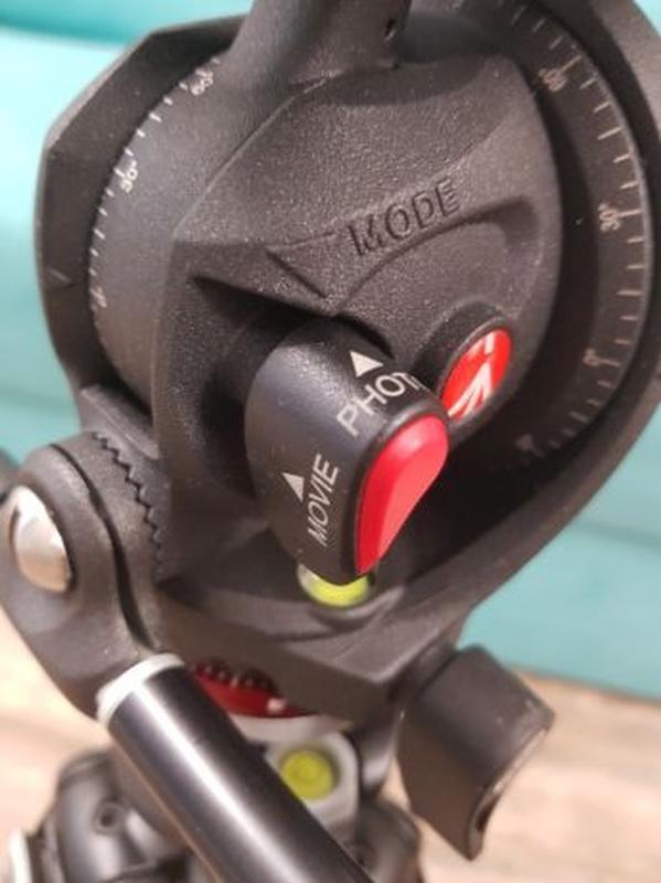 Штатив Manfrotto 055XPROB, фото/видео голова MH055M8, сумка MB... - Фото 4