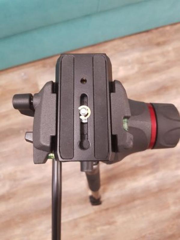 Штатив Manfrotto 055XPROB, фото/видео голова MH055M8, сумка MB... - Фото 7