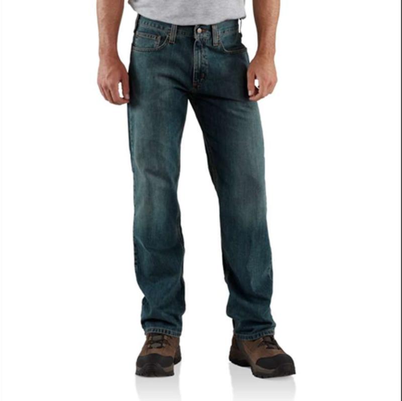 Джинсы carhartt b320 straight leg relaxed fit jean оригинал из...