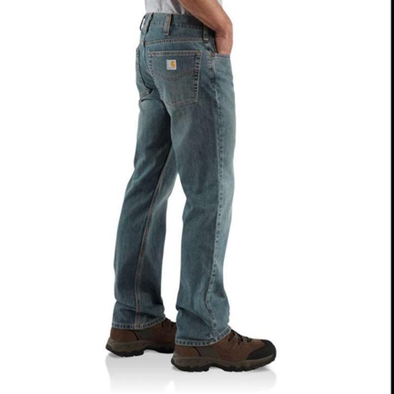 Джинсы carhartt b320 straight leg relaxed fit jean оригинал из... - Фото 3