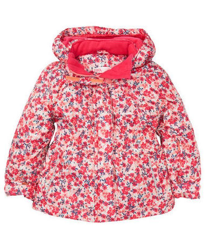 Зимняя теплая куртка на девочку kiki&koko германия рост 116