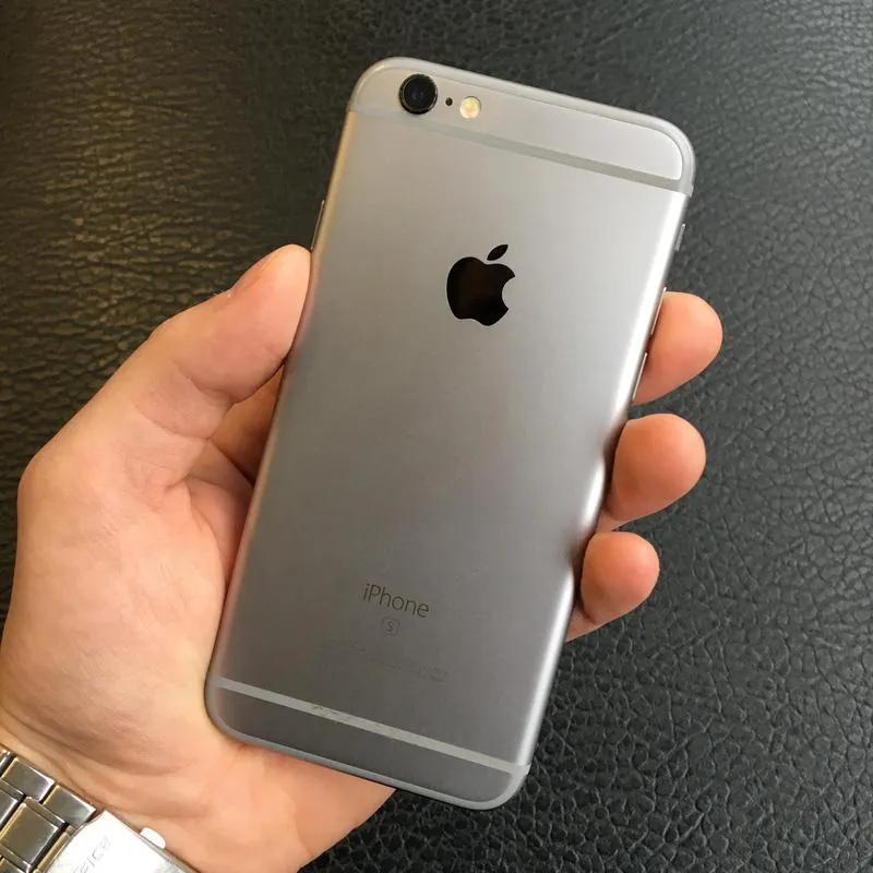 Apple iPhone 6s 32Gb Space Gray Neverlock Оригинал Б/У Идеал - Фото 3