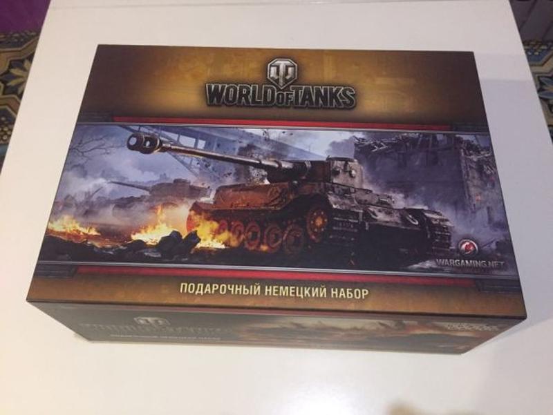 World of Tanks Подарочный Немецкий Набор (5-е рус. изд.) WOT