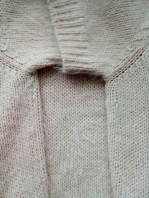 Пушистая теплая блузка жилетка футболка кроп от f&f - Фото 8