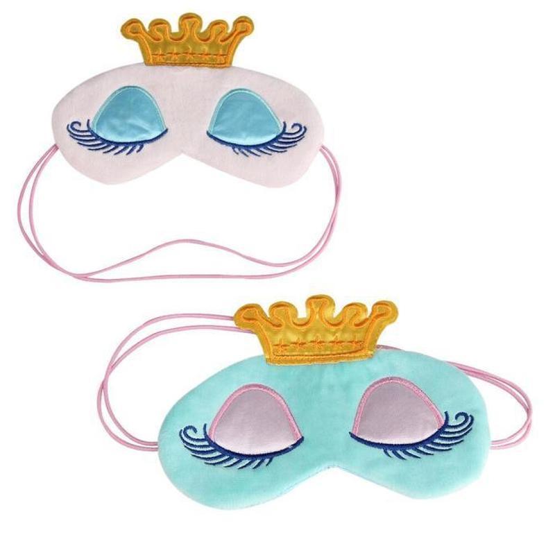 Прикольная маска для сна принцесса