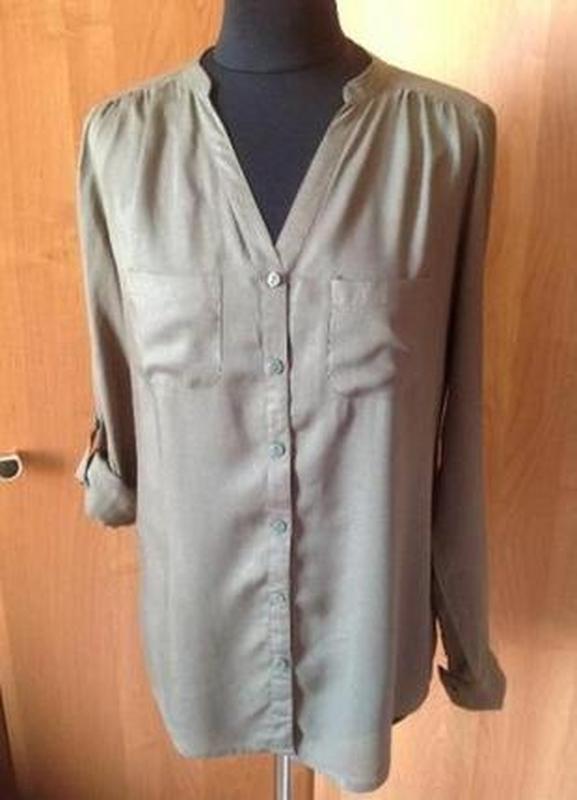 Блуза-рубашка terranova р.s