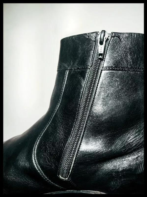 Осенние кожаные ботинки немецкого бренда salamander - Фото 7