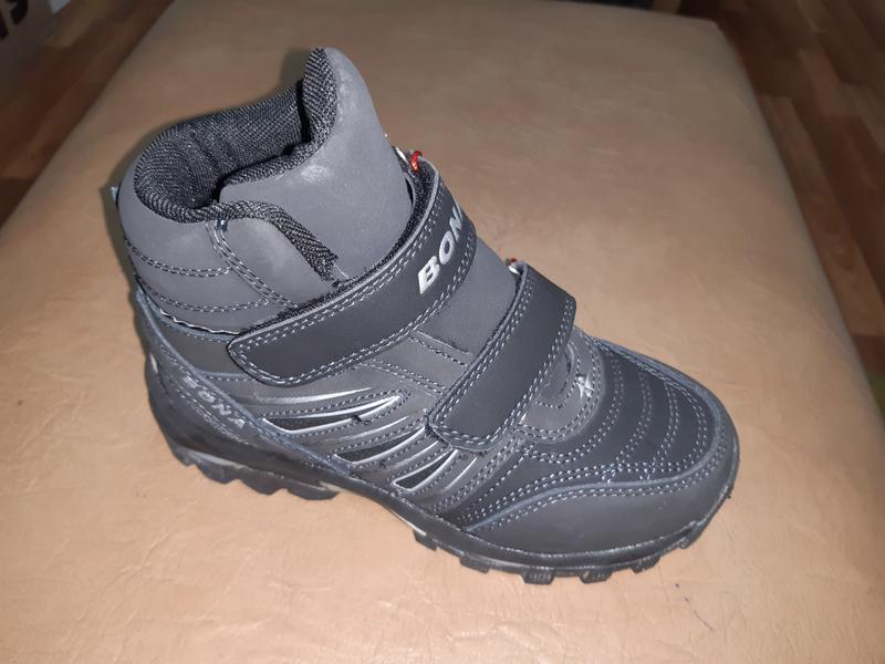 Зимние кожаные ботинки bona 32 р на мальчика
