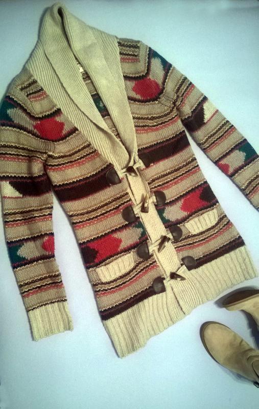Кардиган вязаный свитер кофта
