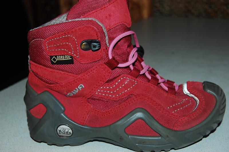 Деми ботинки lowa gore tex 28 размер