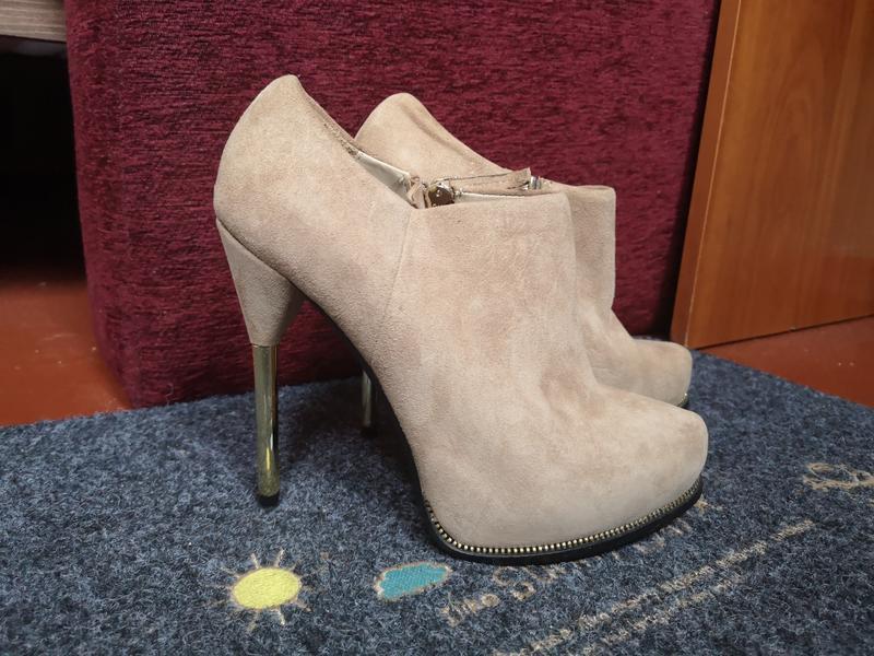 Ботильоны ботинки zara