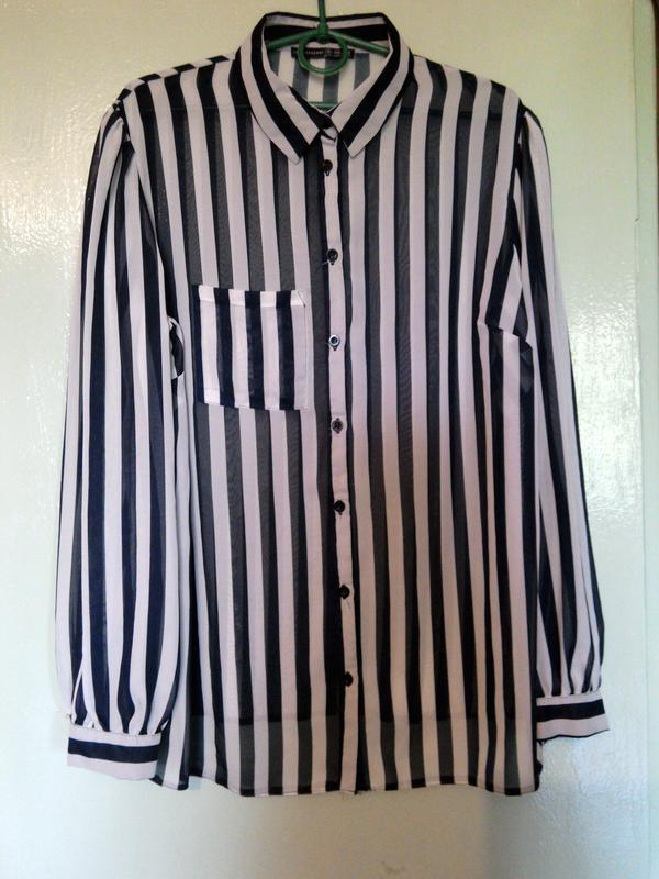 Блузка в полоску atm