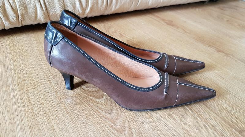 Новые кожаные туфли италия (0308)